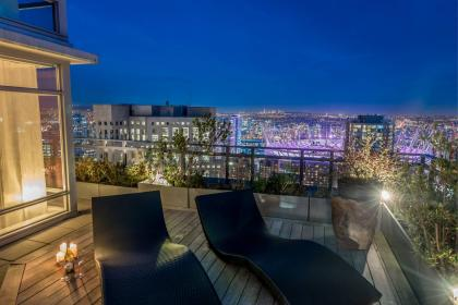 Outdoor Lounge  at 3001 - 788 Richards Street, Downtown VW, Vancouver West