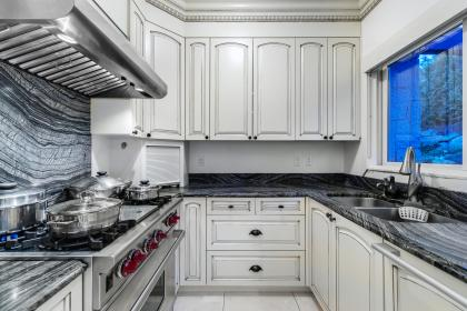 Spacious Second Kitchen at 2349 Constantine Place, Whitby Estates, West Vancouver